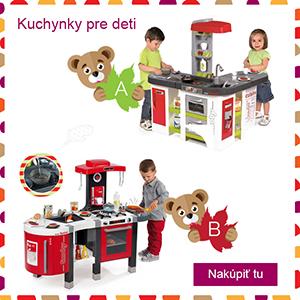 Kuchynky pre deti na Vianoce