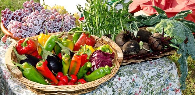Jesenná zelenina a ovocie