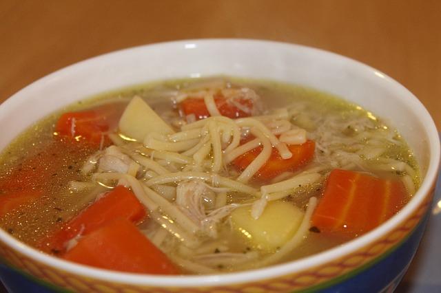 Slepačia polievka je prastarý liek