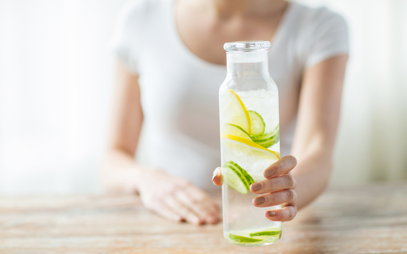 Fľaša s vodou