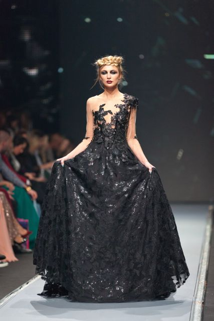 Čierna elegancia pre skutočnú kráľovnú