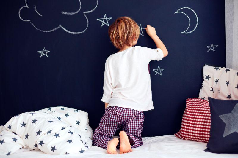 Tabuľová farba na stene