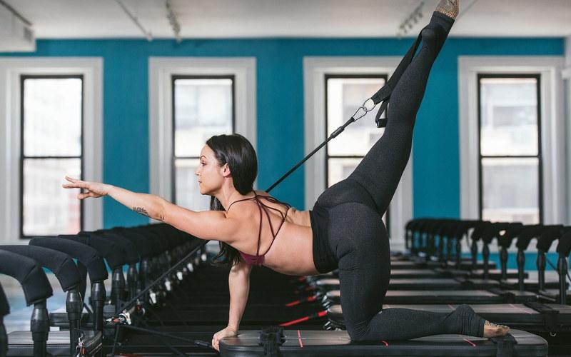 Fitnes tréning megaformer