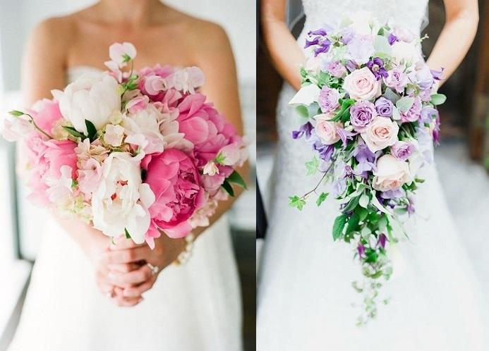 Svadba a ružová kytica