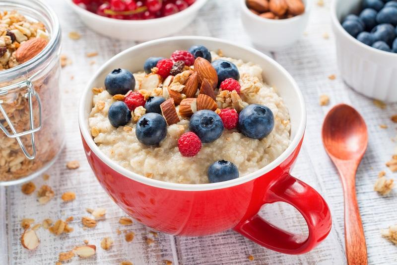 Zdravé raňajky a kaša