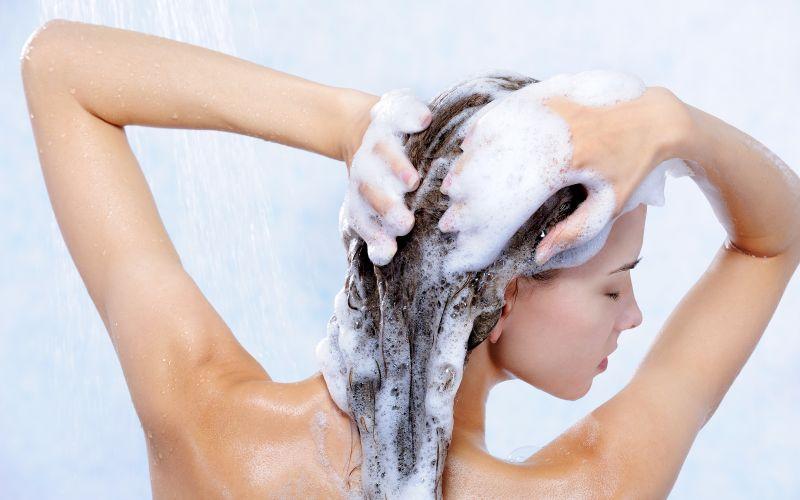Šampónovanie vlasov