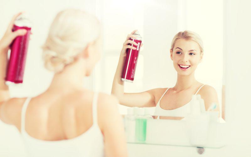 Suchý šampón na vlasy