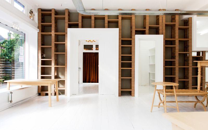 Úložné priestory v obývačke