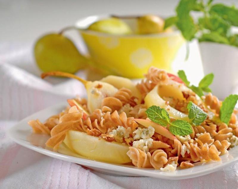 Recept na cestoviny s hruškami a orechami
